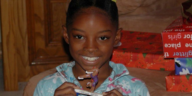 simone biles early life