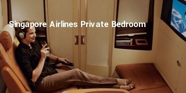 singapore airlines private bedroom
