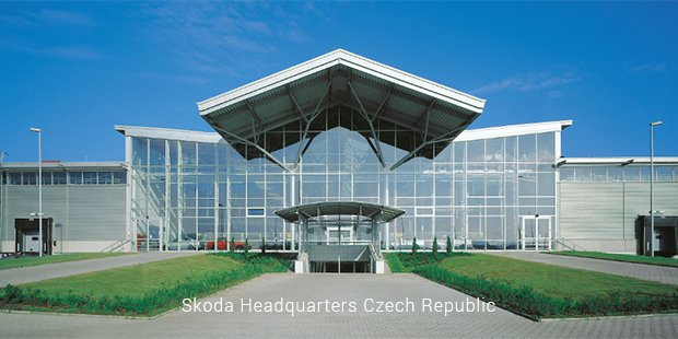 skoda headquarters czech republic