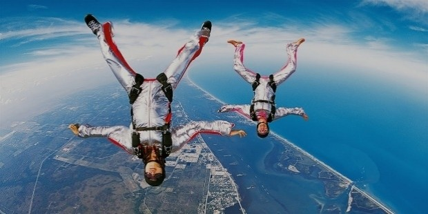 sky diving wallpapers