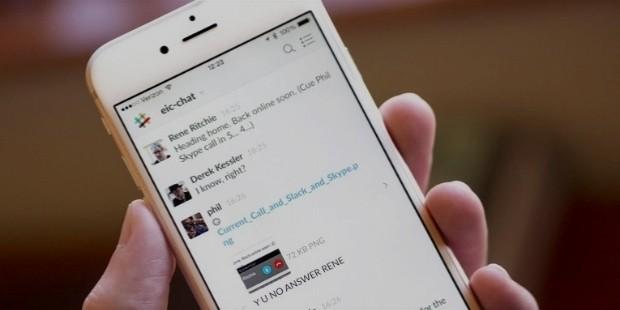 slack miobile app