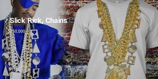 slick rick, chains