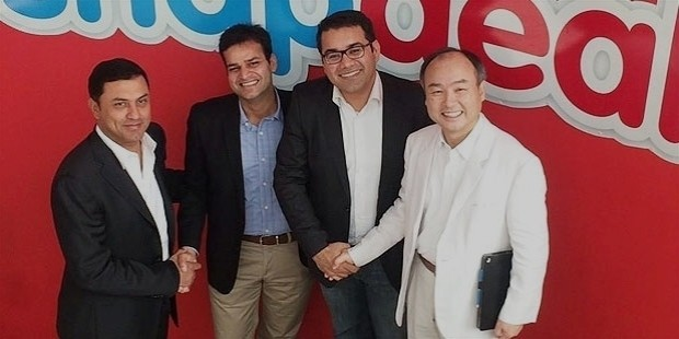 snapdeal, has raised an additional $627 million from softbank