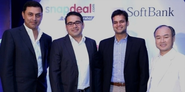 snapdeal softbank