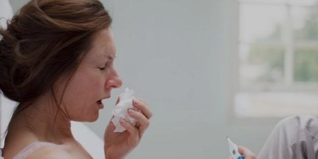 sneezing fits