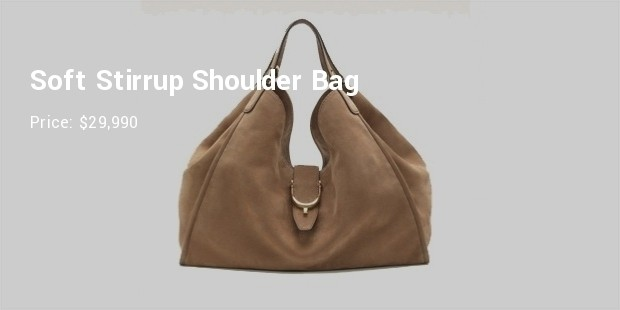 soft stirrup shoulder bag