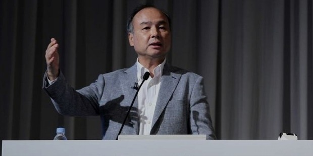 softbank founder and ceo mayoshi son