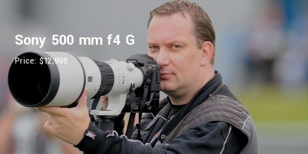 sony 500 mm f4 g