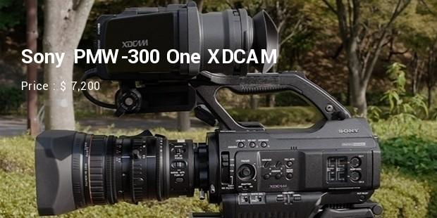 sony pmw 300 one xdcam