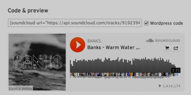 soundcloud features
