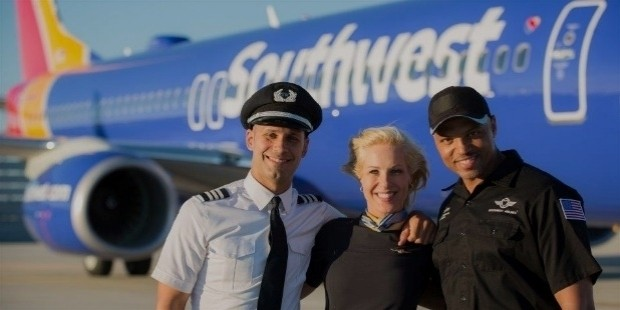 southwest airlines staff
