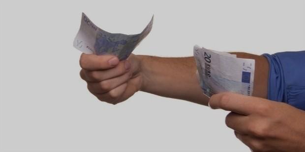 speding money