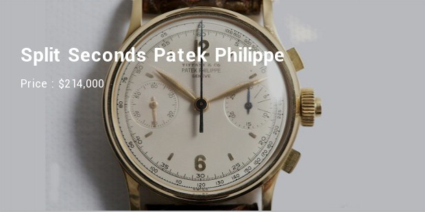 Split Seconds Patek Philippe Reference 1436