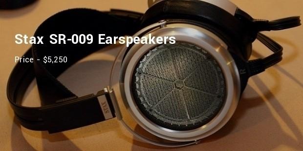 stax sr 009 earspeakers