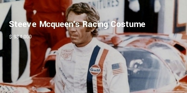 steeve mcqueens racing costume