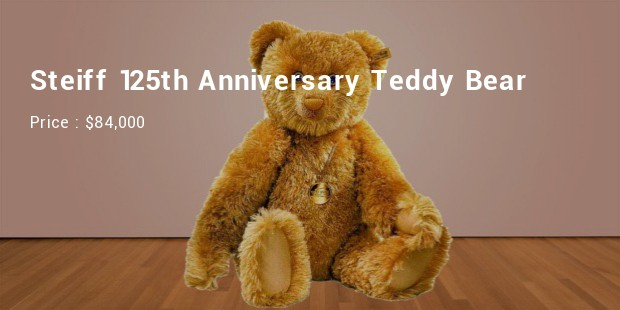 steiff 125th anniversary teddy bear