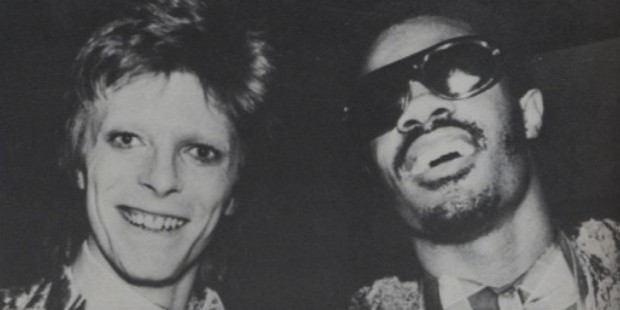 stevie wonder and david bowie