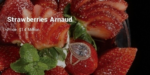 strawberries arnaud   $1