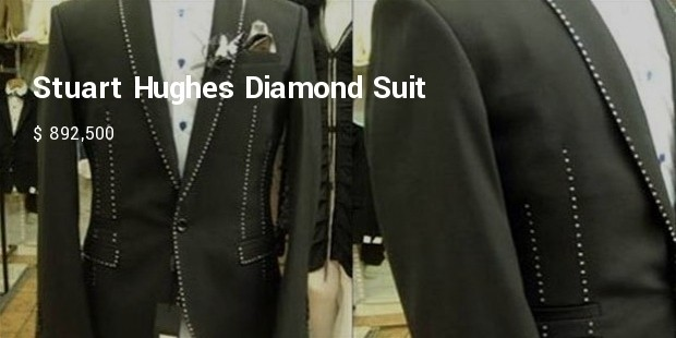 stuart hughes diamond suit
