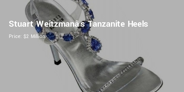 stuart weitzman's tanzanite heels