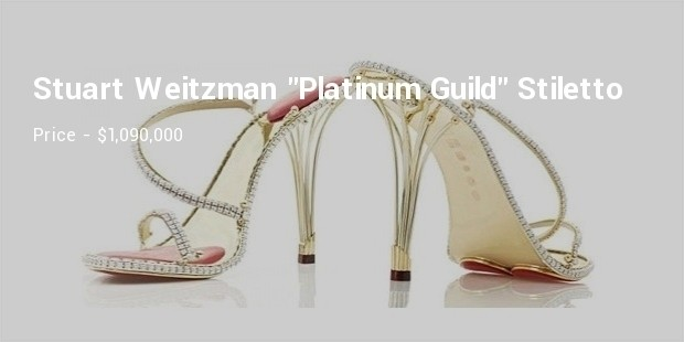stuart weitzman  platinum guild stiletto