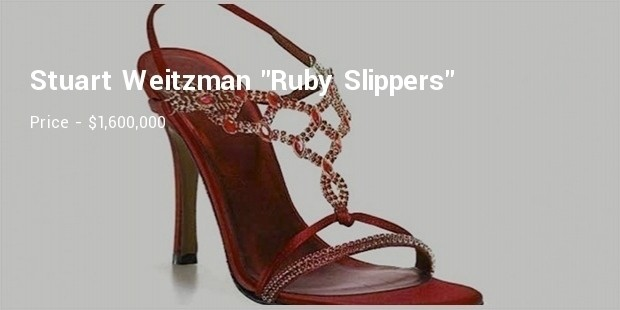 stuart weitzman  ruby slippers