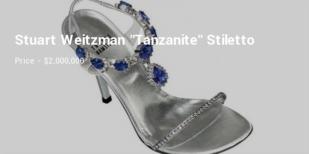 stuart weitzman  tanzanite stiletto