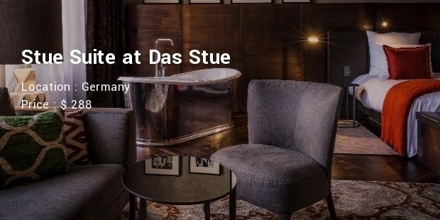 stue suite at das stue
