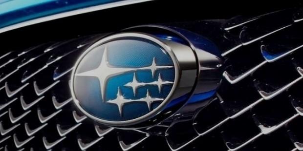 subaru logo history