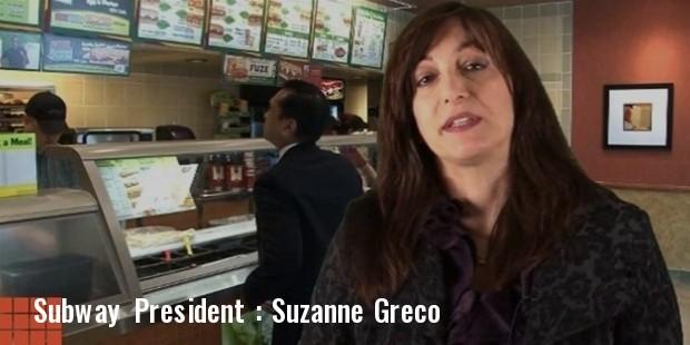 subway president
