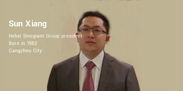 sun xiang sinogiant group president