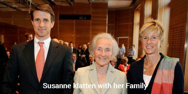 susanne klatten with her family