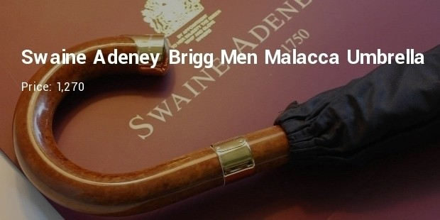 swaine adeney brigg men malacca umbrella