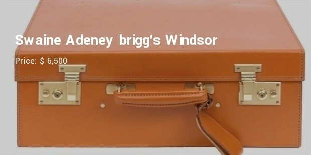 swaine adeney briggs windsor luggage bag