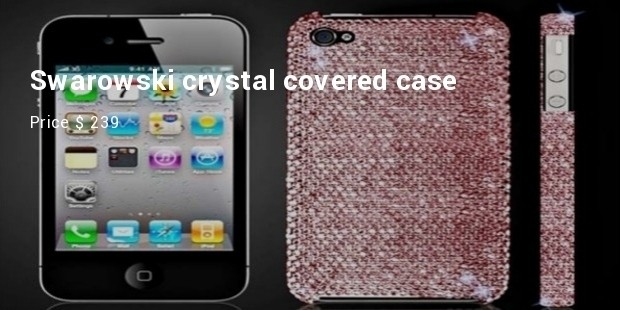 swarowski crystal covered case