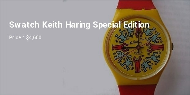 Funky Swatch Keith Haring Special Edition