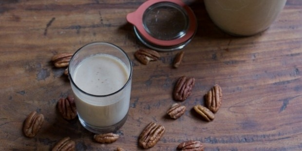 sweetened nut milks