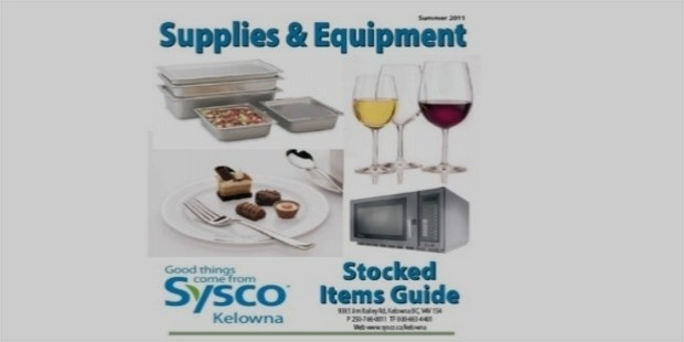 sysco corp supplies