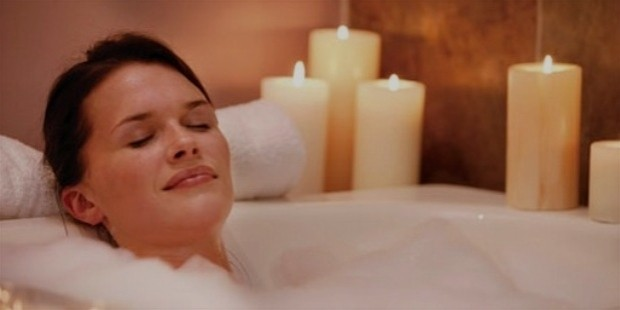 take a bath for sleep better