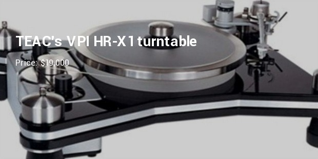 teacs vpi hr x1 turntable