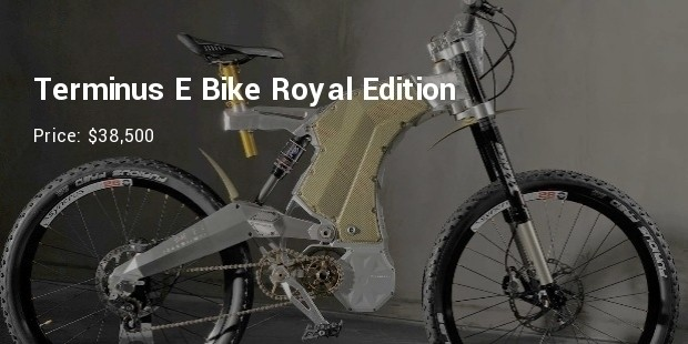 terminus e bike royal edition   $38,500
