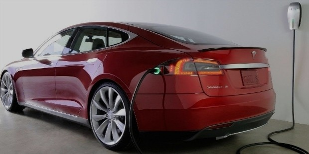 tesla electric concept car