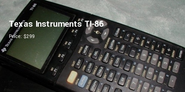 texas instruments ti 86