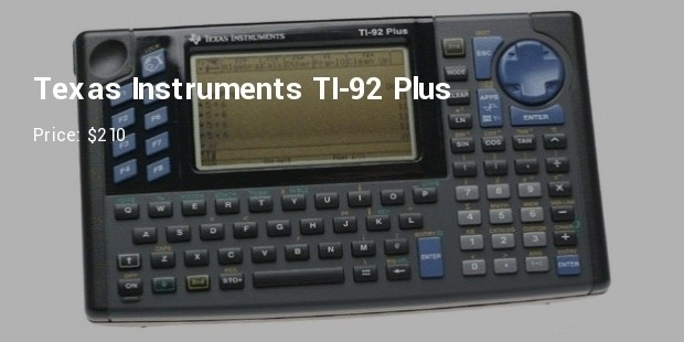 texas instruments ti 92 plus