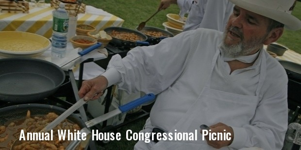 the annual white house congressional picnic in 2013