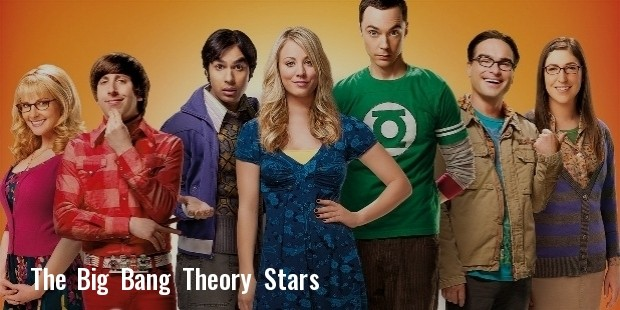 the big bang theory stars recent side acting gigs so popular so busy 306866