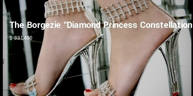 the borgezie diamond princess constellation stiletto