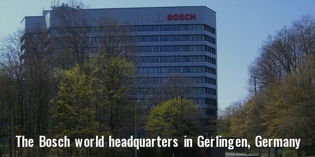 the bosch world headquarters in gerlingen, germany