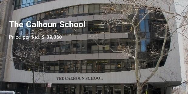 the calhoun school