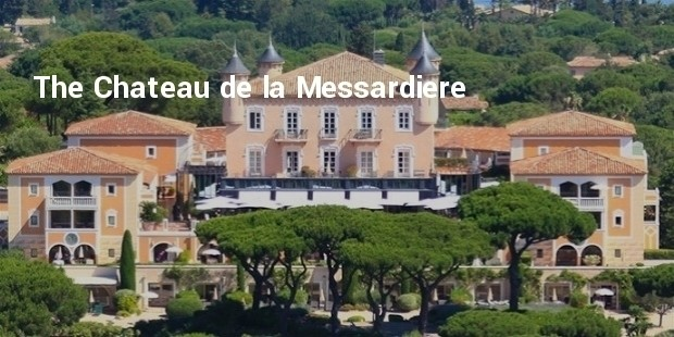 the chateau de la messardiere